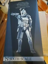 Sideshow 1:6 Scale Star Wars Clone Commander Wolffe 104th Battalion