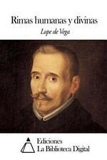 Rimas Humanas y Divinas by Lope de Vega (2014, Paperback)