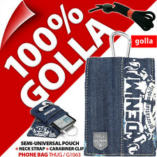 New Golla Black Phone Case Pouch Bag for iPhone 4 4S 5 5S SE Samsung Galaxy S2
