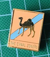 The Canal Zoners Metal Badge