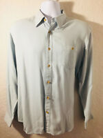 TOMMY BAHAMA Collared Long Sleeve Shirt (Sz M) Preowned