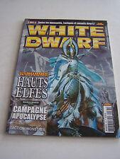 MAGAZINE WHITE DWARF , JEUX GAMES WORKSHOP ET FIGURINES N° 163 . TRES BON ETAT .