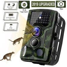 Waterproof 16mp Hunting Camera 1080p Trail Scouting IR Night Vision Wildlife Cam