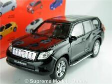 TOYOTA LAND CRUISER MODEL CAR BLACK 1:38 SCALE WELLY NEX 43630 PRADO K8Q