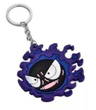 Pokemon Ghastly Rubber Keychain 2 Inches US Seller