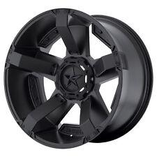 18x9 Black rims wheels XD811 Rockstar 2 DODGE RAM 1500 1994-2017 5X5.5 0mm