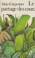 Livre Poche le partage des eaux Alejo Carpentier book