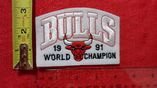 Chicago Bulls Embroidered Patch 1991 NBA Champions