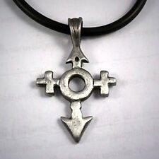 Universal Gender Sign LGBT GAY-LESBIAN BISEXUAL TRANSGENDER CROSS Pewter pendant