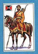 ARMI E SOLDATI - Edis 71 - Figurina-Sticker n. 16 - CAVALIERE PERSIANO -Rec