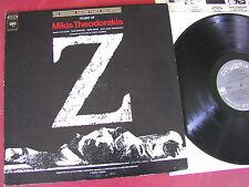 Mikis Theodorakis - OST Z Columbia  Masterworks 1969 USA
