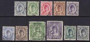 Zanzibar - SG 225/35 - used - 1908/9 - 1c - 2r
