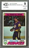 Marcel Dionne As1 Card 1977-78 Topps #240 Los Angeles Kings BGS BCCG 9