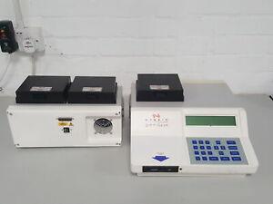 Hybaid Omnigene Thermal Cycler DNA PCR Lab HBTR3 SM2 + Program Card