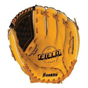 "Franklin Sports Baseball Field Master Ready-To-Play Recreational, 14"" Glove"