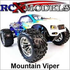 RC Nitro Car Petrol Monster Truck/Buggy Radio/Remote Control 4WD Fast Off Road !