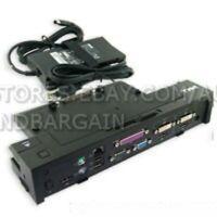 Dell PR02X PRO2X E-Series E-Port Plus Replicator Dock Used With 130W AC USB 2.0