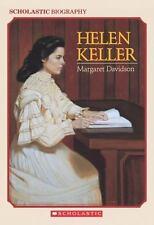 Helen Keller (Scholastic Biography) by Davidson, Margaret; Watson, Wendy [Illus