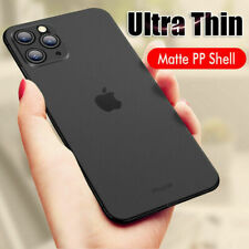 Ultra Thin Case For iPhone 11 Pro Max Xs X Slim 0.3mm Matte Hard Back Cover Skin