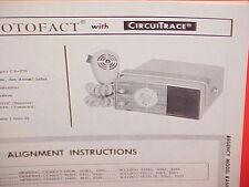 1968 REGENCY CB RADIO SERVICE SHOP MANUAL MODEL RANGER CB-270