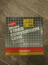 Rokunar Deluxe Conversion Lens Fits Sony's 8mm and TR-5 Handycam