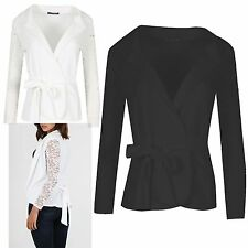 Polyester Collared Floral Jumpers & Cardigans for Women