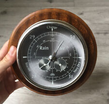 More details for vintage barometer with humidity gauge and thermometer made in england