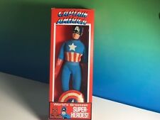 "VINTAGE MEGO SUPER HERO ACTION FIGURE 1972 MARVEL COMICS CAPTAIN AMERICA BOX 8"""