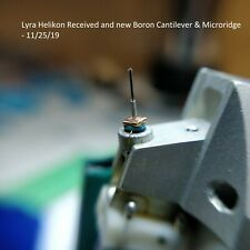 Lyra Moving Coil MC Cartridge Specialized Retipping Service. Boron Microridge
