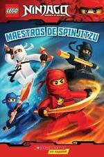 LEGO Ninjago: Maestros de Spinjitzu Lector No. 2 Spanish Edition