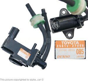 25819-27050 Genuine Toyota Turbo Boost Solenoid Vacuum Valve Pressure 1397000850