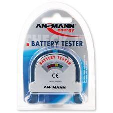 Ansmann Universal Batterie Tester 4000001  - für AA AAA Baby C Mono D 9V