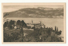 France - Aix-les-Bains, L'Abbaye d'Hautecombe et la Chamboite - 1920's postcard