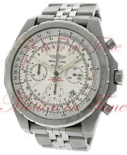 Breitling Bentley Motors T Chronograph Silver Dial Stainless Steel A2536313/G552