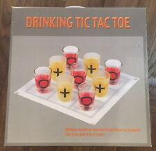 Trinkspiel Partyspiel Junggesellenabschied Tic Tac Toe XXL Spiel NEU mit Gläsern