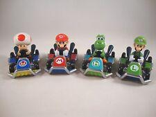 Mariokart7 4 Diecast-Kart-Figuren Nintendo Figur Vehicle Yoshi,Luigi,Mario,Toad