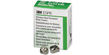 3m Espe Dental Stainless Steel Permanent Molar Adult Crown All Sizes 5pk