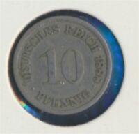 Deutsches Reich Jägernr: 4 1888 J sehr schön Kupfer-Nickel 10 Pfennig (7849334