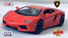 Maisto Power Racer Coral Red 2012 Lamborghini Aventador LP 700-4 1:40