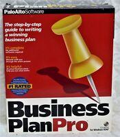 Business Plan Pro - PaloAlto - Windows 95 and NT
