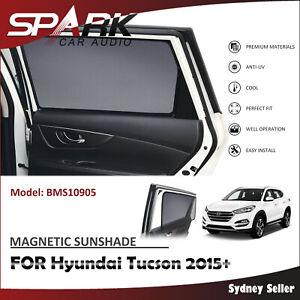 SP MAGNETIC CAR WINDOW SUN SHADE SUNSHADES BLIND MESH FOR HYUNDAI TUCSON 2015+