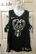 Giannis Antetokounmpo Milwaukee Bucks Nike Swingman Statement Jersey Men's XL