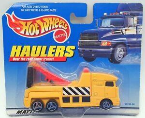 Hot Wheels 12cm Long Model Truck 65743-96 - Haulage Truck - Orange