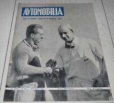 AUTOMOBILIA N°546 1951 DELAHAYE 235 FANGIO CHAMPION DU MONDE SALON LONDRES