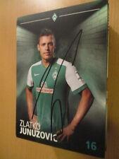 67603 Zlako Junuzovic Werder Bremen 15-16 original signierte Autogrammkarte
