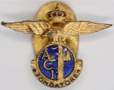 Italian Aero Club Founders Lapel Badge AeCi 1922-1926