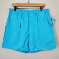 "NWT Columbia PFG Backcast III Size L / 6"" Men's Water Shorts Riptide Blue"