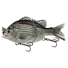 "KDS Custom Slow Sinking Jointed 4.5"" Multi Section Swimbait - P2 Barfish"
