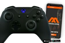 Black Out Xbox One S SMART Custom Rapid Fire Modded Controller. FPS mods. COD