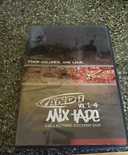 AND 1 MIX - TAPE Vol 1 - 4 Collectors Edition   DVD  1 Disc/4 Volumes
